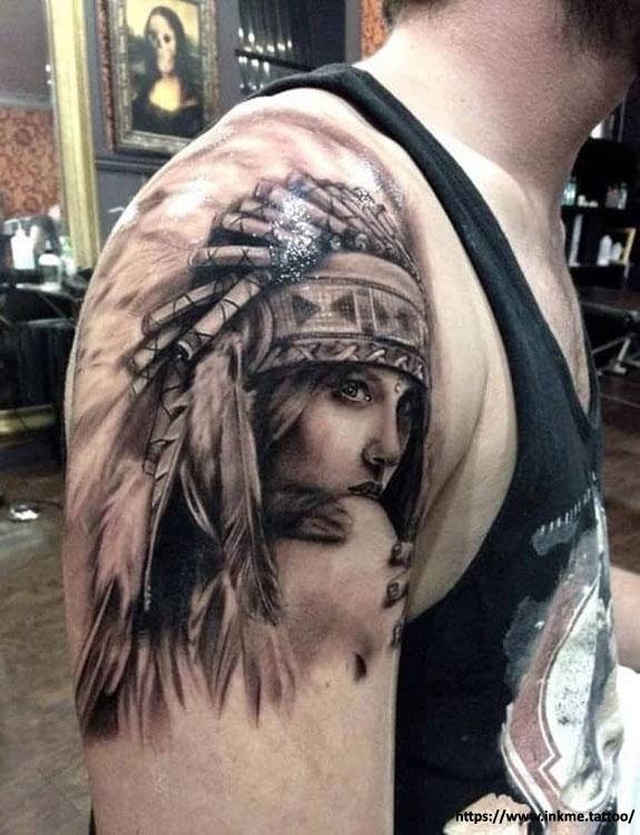 Native American Hope Tattoo