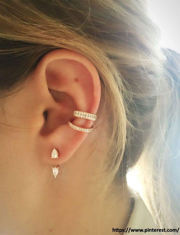 Orbital Piercing - ear piercing types