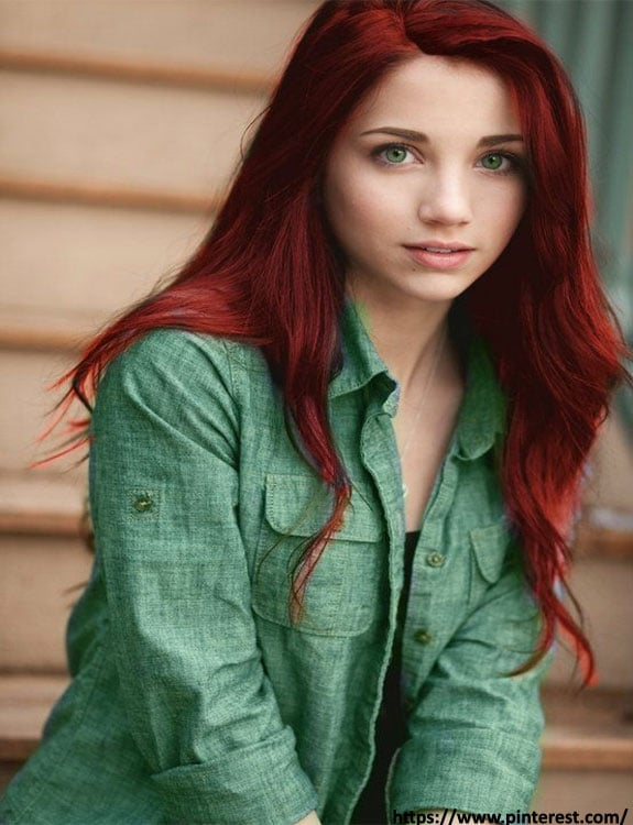 Red Hair Color- hair-color-for-green-eyes