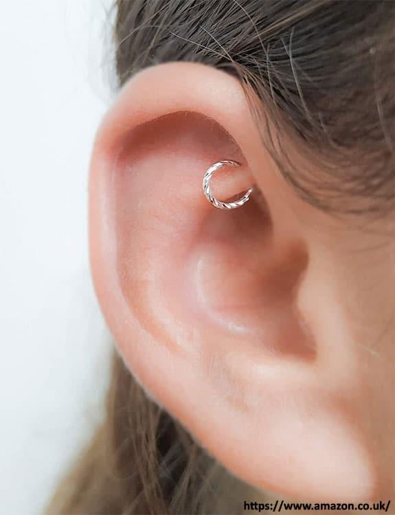 Rook Piercing - ear piercing types