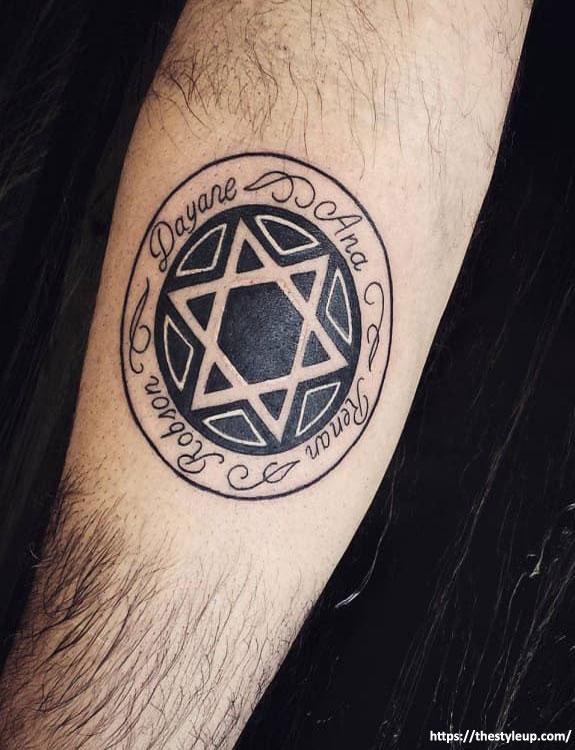 Star of Lakshmi Tattoo