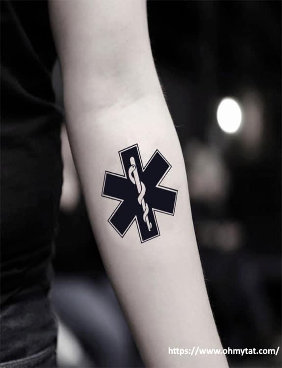 Star of Life Tattoo