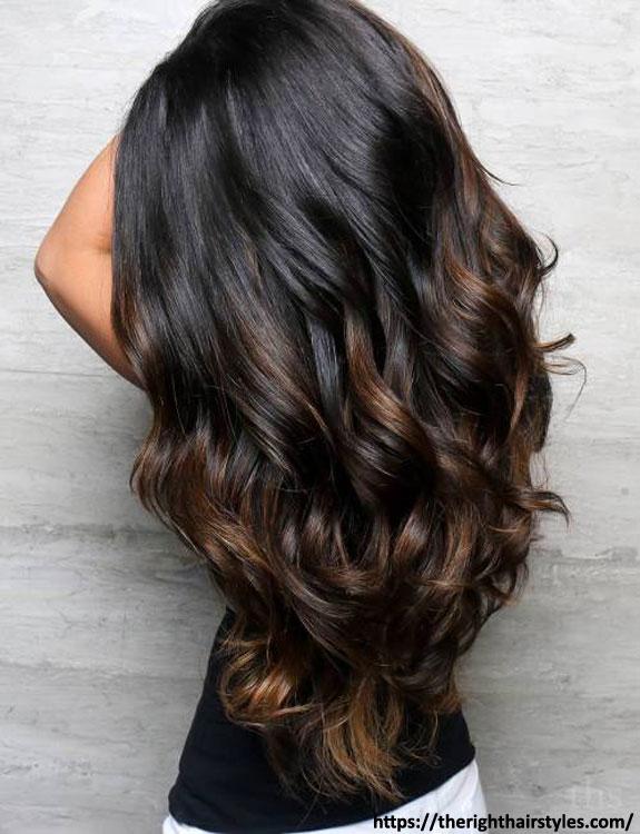 Subtle Highlights For Black Hair
