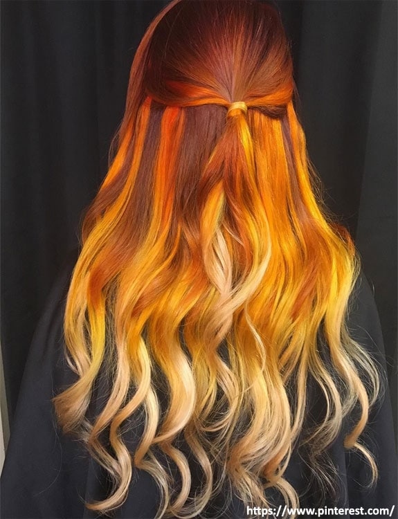 Sunflower Blond hair color hair color for brown skin