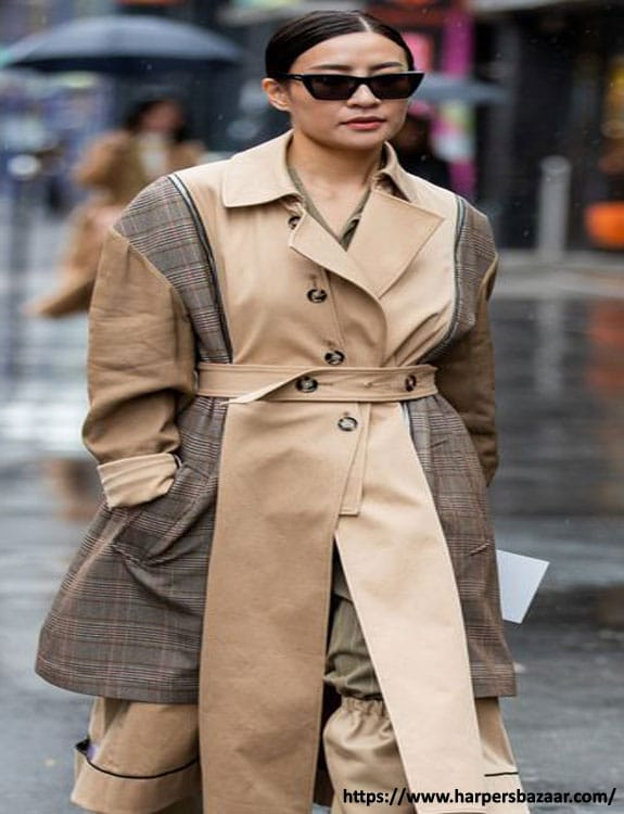 Trench Coat- what-to-wear-in-50-degree-weather