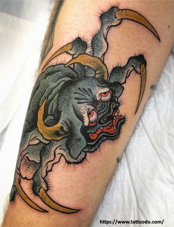 Ushi-Oni Tattoo